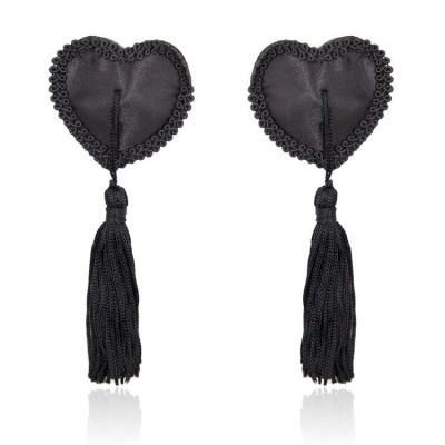 Cubre Pezones Black Hearts