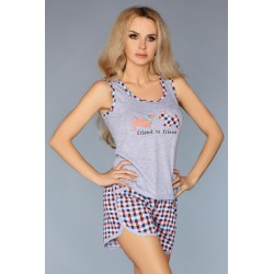 Pijama Modelo 720 – Naranja