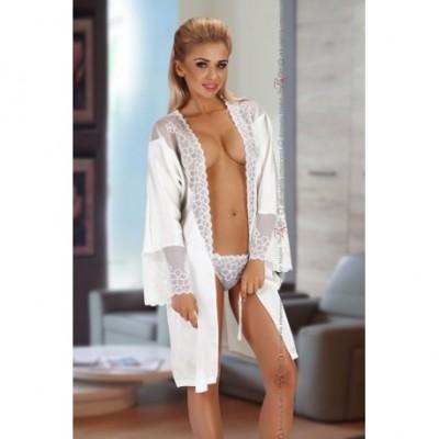 Bata Federica Dressing Gown White